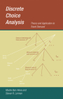Discrete Choice Analysis: Theory and Application to Travel Demand (Transportation Studies) Cover Image