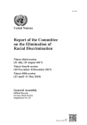 Report of the Committee on the Elimination of Racial Discrimination: Ninety-Third Session (31 July-25 August 2017); Ninety-Fourth Session (20 November Cover Image