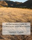 An Introduction to Languages and Machines Cover Image
