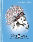 Tween Coloring Book: Animal Designs Vol 1: Colouring Book for Teenagers, Young Adults, Boys, Girls, Ages 9-12, 13-16, Cute Arts & Craft Gif Cover Image