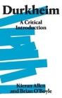 Durkheim: A Critical Introduction Cover Image