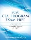 2020 CFA Program Exam Prep Level 1: 2020 CFA Level 1, Book 4: Corporate Finance and Equity Cover Image