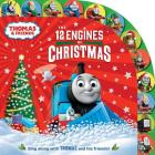 The 12 Engines of Christmas (Thomas & Friends) Cover Image
