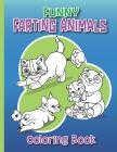 Funny Farting Animals Coloring Book: Super Cute Farting Animals Coloring Book (+15 Pages) For Adults And Kids. Laugh And Joke Time. Stress Relieving A Cover Image