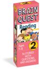 Brain Quest Grade 2 Reading: 56 Stories with Questions and Answers (Brain Quest Decks) Cover Image