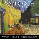 Van Gogh Paintings 2021 Desk Calendar: Famous Art, 8.5