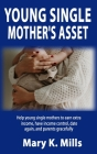 Young Single Mother's Asset: Help young single mothers to earn extra income, have income control, date again, and parents gracefully Cover Image