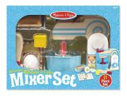 Wooden Make-A-Cake Mixer Set Cover Image