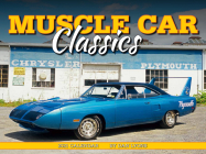 Cal 2021-Muscle Car Classics Wall Cover Image