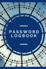 Password Logbook: Organize and Store Web Addresses, Usernames, and Passwords in One Convenient Location (Alphabetized Pages). Cover Image