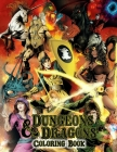 Dungeons & Dragons Coloring Book Cover Image