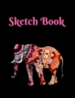 Sketch Book: Elephant; 100 sheets/200 pages; 8.5