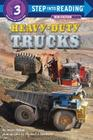 Heavy-Duty Trucks (Step into Reading) Cover Image