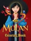 Mulan Coloring Book Cover Image