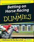 Betting on Horse Racing for Dummies Cover Image