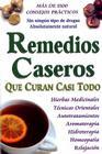 Remedios Caseros Que Curan Casi Todo Cover Image