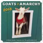 Goats of Anarchy 2018: 16 Month Calendar Includes September 2017 Through December 2018 Cover Image