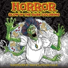 Horror Glow in the Dark Coloring Cover Image