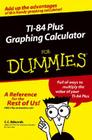TI-84 Plus Graphing Calculator For Dummies Cover Image