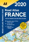 Road Atlas France 2020 Cover Image