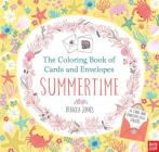 The Coloring Book of Cards and Envelopes: Summertime Cover Image