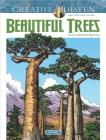 Creative Haven Beautiful Trees Coloring Book (Creative Haven Coloring Books) Cover Image