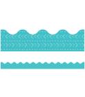 One World Blue Batik Scalloped Borders Cover Image