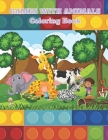 Games with Animals - Coloring Book Cover Image