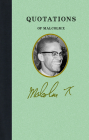 Quotations of Malcolm X Cover Image