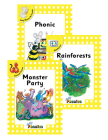 Jolly Phonics Readers Level 2, Complete Set: In Print Letters Cover Image