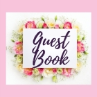 Premium Guest Book - Bouquet of Roses - For any occasion - 80 Premium color pages - 8.5 x8.5 Cover Image