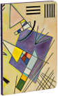 Black and Violet by Vasily Kandinsky A5 Notebook Cover Image
