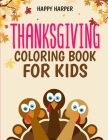 Thanksgiving Coloring Book Cover Image