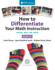 How to Differentiate Your Math Instruction, Grades K-5 Multimedia Resource: Lessons, Ideas, and Videos, Grades K–5 Cover Image