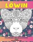 Malbücher für Erwachsene - Realistisches Tier - Tiere - Löwin Cover Image
