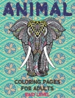 Animal Coloring pages for Adults - Easy Level Cover Image