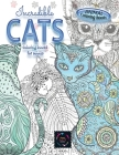 Animal coloring books INCREDIBLE CATS coloring books for adults.: Adult coloring book stress relieving animal designs, intricate designs Cover Image