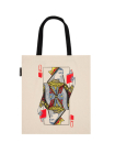 Queen of Books Tote Bag Cover Image
