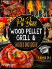 Wood Pellet Smoker Grill Bible with Bonus [7 Books in 1]: The Encyclopedia of Succulent Recipes to Eat Good, Forget Digestive Problems and Leave Them Cover Image
