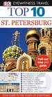 Top 10 St. Petersburg [With Map] Cover Image
