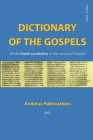 Dictionary of the Gospels (Greek - English): All the Greek vocabulary of the canonical Gospels Cover Image