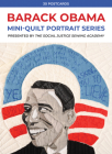 Barack Obama Mini-Quilt Portrait Series: 30 Postcards Presented by the Social Justice Sewing Academy Cover Image