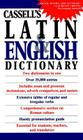 Cassell's Concise Latin-English, English-Latin Dictionary Cover Image
