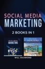Social Media Marketing Work from Home Passive Income Ideas 2 Books in 1: Master Social Media Marketing to Promote Your Product and Create Passive Inco Cover Image