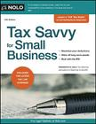 Tax Savvy for Small Business Cover Image
