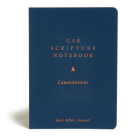 CSB Scripture Notebook, Lamentations: Read. Reflect. Respond. Cover Image