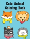Cute Animal Coloring Book: Detailed Designs for Relaxation & Mindfulness Cover Image