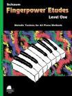 Fingerpower - Etudes Level 1 (Schaum Publications Fingerpower(r)) Cover Image