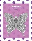 Malbücher für Erwachsene Anfänger - Mandala - 100 Tiere Cover Image