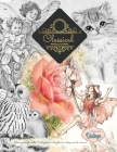 Title: GREYSCALE Vintage coloring books ... Fairies, flowers, animals, plants and more Cover Image